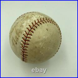 Babe Ruth Single Signed Autographed 1930's Baseball With JSA COA