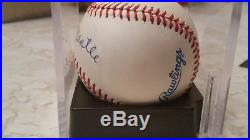 Beautiful Mickey Mantle Signed Autographed Auto Official Al Baseball Psa Dna