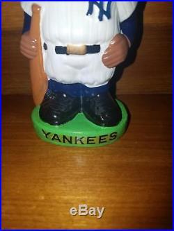 Black Face New York Yankee Bobbin Head Nodder. 2nd Rarest In Existance. Gem Mint