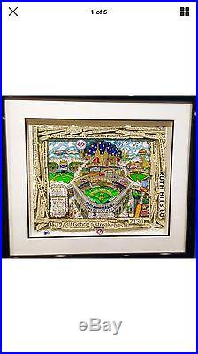 Charles Fazzino NY Yankees 100 Years Deluxe Limited Edition with certificate