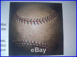 Circa 1930 BABE RUTH of MLB SINGLE SIGNED PSA/DNA Baseball on the SWEET SPOT