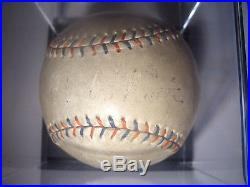 Circa 1930 BABE RUTH of MLB SINGLE SIGNED PSA/DNA Baseball on the SWEET SPOT