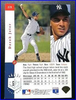 DEREK JETER 1993 SP Foil Rookie (RC) #279