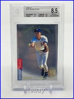 Derek Jeter 1993 SP Foil Rookie Card BGS 8.5 Hall Of Fame Yankees