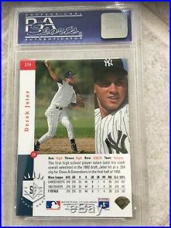 Derek Jeter 1993 Upper Deck SP Foil PSA 8 NM/MT Rookie Card $650.00