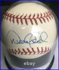Derek Jeter Autograph Single Signed Baseball Grade 9 Yankees HOF ROMLB Clean