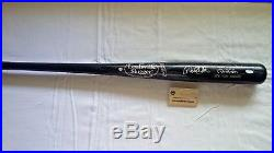 Derek Jeter Autographed Bat MLB & Steiner Holo COA Game Model P72 NY Yankees