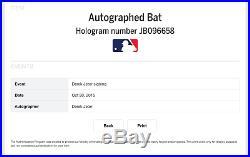 Derek Jeter Autographed Game Model Bat Steiner Sports & MLB Authenticated
