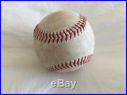 Derek Jeter Game Used Hit 3,406 Baseball Ball Yankees Mlb Authentication