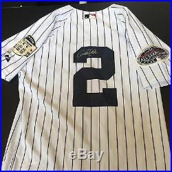 Derek Jeter Signed 2008 Yankees Stadium Final Season New York Yankees Jersey