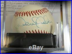 Derek Jeter Signed Rawlings American League Baseball (Budig) PSA/DNA