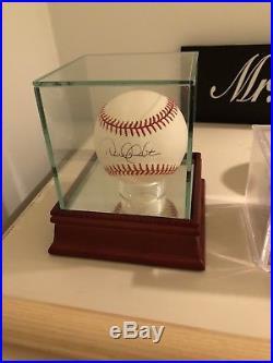 Derek Jeter Single Signed Autographed Baseball Sweet Spot JSA LOA Rawlings AL