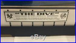 Derek Jeter The Dive Autographed Signed Framed Photo Steiner Hologram 16x20