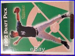 Derek Jeter Topps Gold 1992 Draft Pick Rookie Card