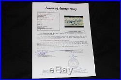 Derek Jeter signed auto game model bat RARE 3,000 hit inscription JSA