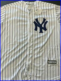 Don Mattingly Signed Auto Autographed New York Yankees Jersey JSA COA