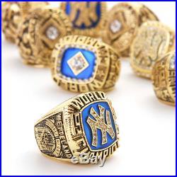 FROM USA 1923-2009 Set New York Yankees 27 World Series Championship Rings NY