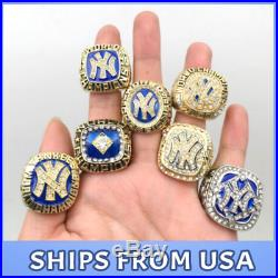 FROM USA Set 27 Rings New York Yankees Championship world series Ring NY Fans