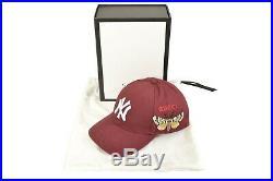 GUCCI Major League Baseball Official New York Yankees NY Cap F02318
