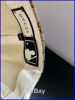 GUCCI NY New York Yankees Supreme Baseball cap hat