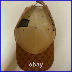 GUCCI New York Yankees baseball cap BEG total pattern GG canvas japan shipping