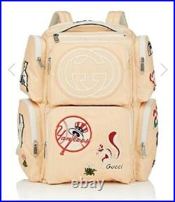 GUCCI x New York Yankees Limited Edition Collaboration Backpack