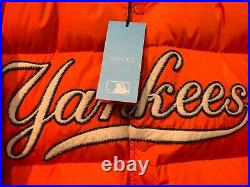 Gucci Jacket Down with NY Yankees-appliquéd, L