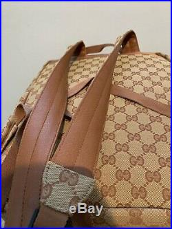 Gucci New York Yankees Backpack With NY Yankees Dustbag And Paper Shopping Bag