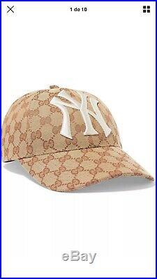 Gucci baseball cap hat New York Yankees