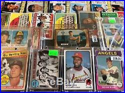 Huge Vintage Baseball Card Lot of 5000+ 1955 Mickey Mantle George Brett Rookie +