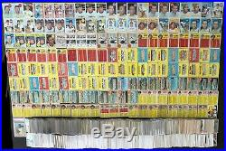 Huge Vintage Lot! 1967 1968 1969 Topps. 3,500 cards! Mickey Mantle Willie Mays