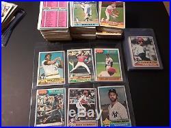 Huge vintage baseball card lot Mantle/Mays/Clemente/etc 1500 plus cards