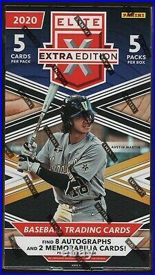 IN STOCK 2020 Panini Elite Extra Edition Baseball Hobby Box 8 Autographs Per Box