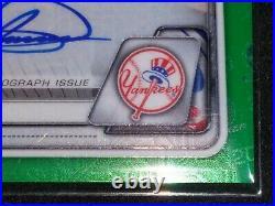 JASSON DOMINGUEZ SSP RC AUTO! Bowman Chrome GREEN MOJO. #57/99 Yankees FUTURE