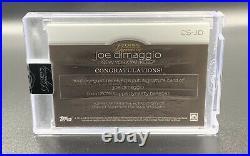 Joe DiMaggio 1/1 Auto 2018 Topps Dynasty Cut Signature CS-JD Autograph Yankees