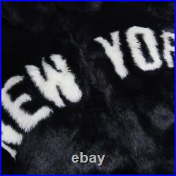 KITH x NEW YORK YANKEES FAUX FUR COACHES JACKET Size M Order Confirmed Free Ship