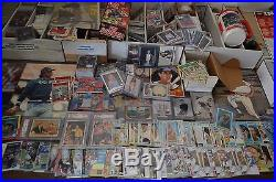 Large Sports Card Collection! Around 5,000 Cards! Mantle, Etc. Must See