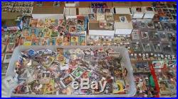 Lifetime Collection 10,000 CARDS Vintage Lot 1956 Mantle Ryan RC 50s 60s 70s