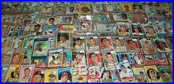 Lifetime Collection 50s 60s 70s only Vintage Lot 2300+ Cards Mickey Mantle
