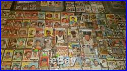 Lifetime Collection 9,800+ CARDS Vintage Lot Mickey Mantle Ernie Banks RC