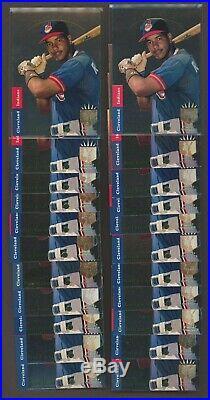 Lot (448) 1993 SP Foil ONLY with 21 #279 Derek Jeter with 25 Chipper Jones RC HOF