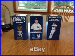 Lot Of 3 Giancarlo Stanton Bobbleheads. Limited Edition. NIB