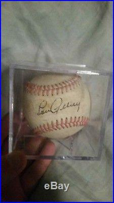Lou Gehrig autographed american league baseball