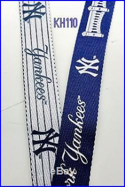 MLB New York Yankees two tone Clip on Lanyard