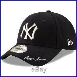 Men's New York Yankees New Era Navy Polo Ralph Lauren 49FORTY Fitted Hat Cap LTD