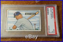 Mickey Mantle 1951 Bowman TRUE ROOKIE CARD! # 253 PSA 5 NQ
