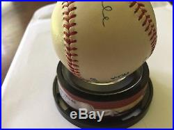 Mickey Mantle Signed Baseball PSA DNA Autograph Strong Ink