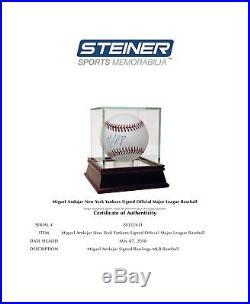 Miguel Andujar Signed Autographed Oml Baseball Steiner Coa Yankees