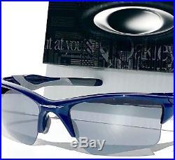 34d74dfc60 NEW Oakley HALF JACKET 2.0 BLUE NYY frame w Black Iridium Lens Sunglass  9154-24