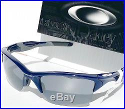 NEW Oakley HALF JACKET 2.0 BLUE NYY frame w Black Iridium Lens Sunglass 9154-24